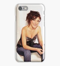 Jaime Murray - Oil Paint Art iPhone Case/Skin