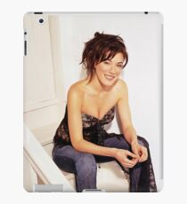 Jaime Murray - Oil Paint Art iPad Case/Skin