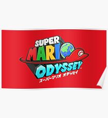 Super Mario Odyssey Poster