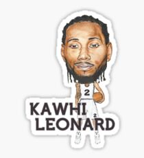 Kawhi Leonard Sticker