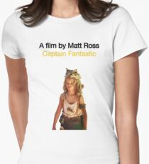 CAPTAIN FANTASTIC // MATT ROSS (2016) Womens Fitted T-Shirt
