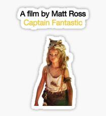 CAPTAIN FANTASTIC // MATT ROSS (2016) Sticker