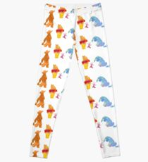 Friends together Inspired Silhouette Leggings