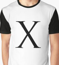 Letter X Graphic T-Shirt