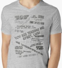 The Room: Quotes Men's V-Neck T-Shirt