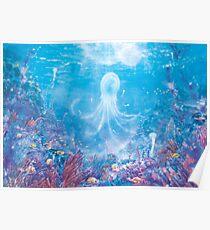 Jellyfish Sea  Poster