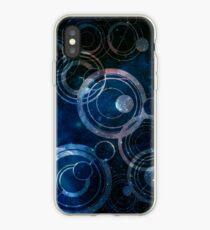 Gallifreyan Galaxy iPhone Case