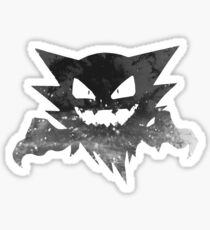 Haunter Recolor - b/w Sticker