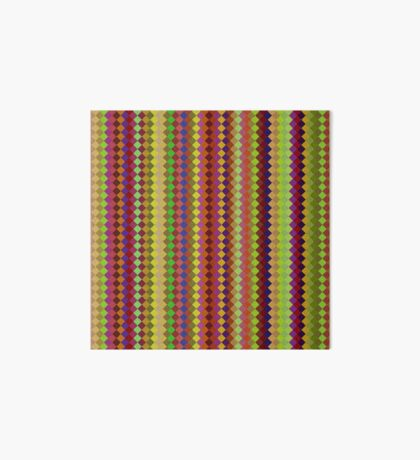 Retro Stripes by Julie Everhart Art Board