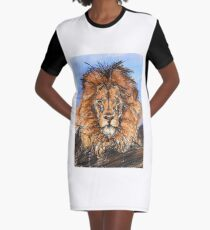 The King of Lions Graphic T-Shirt Dress