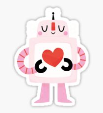 Love Robot Sticker