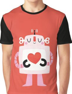 Love Robot T-shirt Graphique
