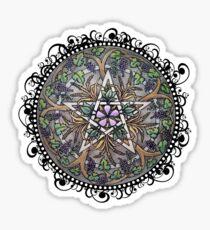 Abundance Pentacle Sticker