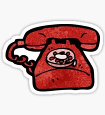 cartoon telephone Sticker