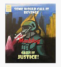 Maddog Issue #1 Photographic Print