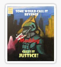 Maddog Issue #1 Sticker