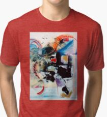 Transcendence ~ Abstract 92 Tri-blend T-Shirt