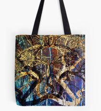 The mysterious face of nature Tote Bag