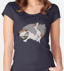 Wolfish Women's Fitted Scoop T-Shirt