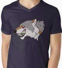 Wolfish Men's V-Neck T-Shirt