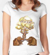 Baobab Fusion Camiseta entallada de cuello redondo