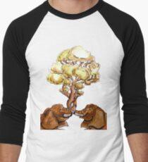 Baobab Fusion Camiseta ¾ bicolor para hombre