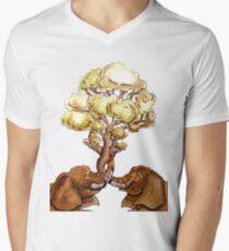 Baobab Fusion Camiseta para hombre de cuello en v
