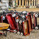 Wagon Pile/Redmond by Richard Bozarth