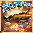 P-40 WARHAWK FLYING TIGER  by Pat McNeely