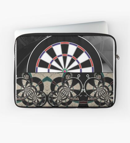 Abstract Darts Shirt Laptop Sleeve