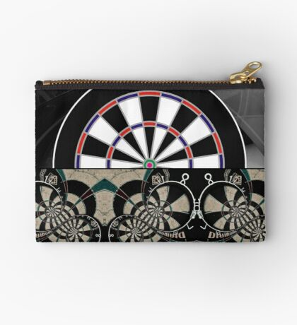 Abstract Darts Shirt Studio Pouch