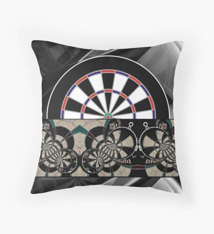 Abstract Darts Shirt Throw Pillow