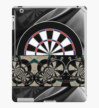 Abstract Darts Shirt iPad Case/Skin