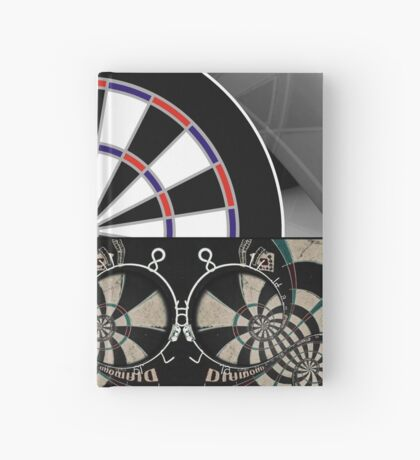 Abstract Darts Shirt Hardcover Journal
