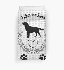 Labrador Love Duvet Cover