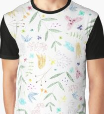 Floral colors Graphic T-Shirt