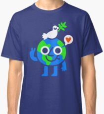 World Peace & Love Classic T-Shirt