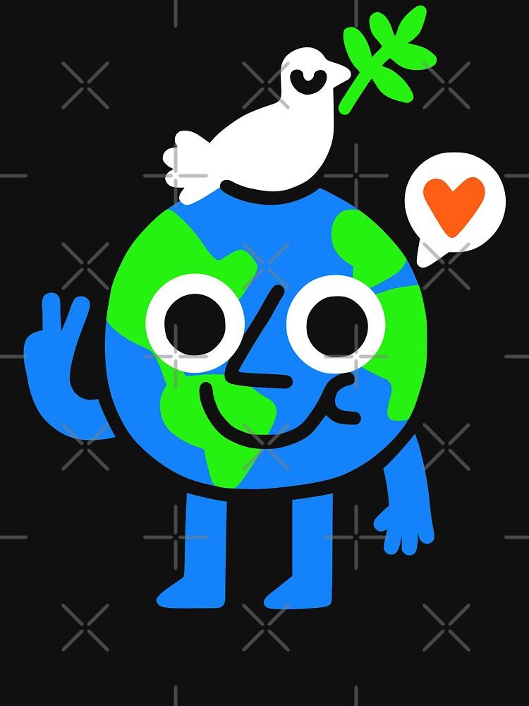World Peace & Love by obinsun