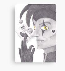 The Court Joker Canvas Print