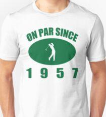 1957 Golfer's Birthday T-Shirt