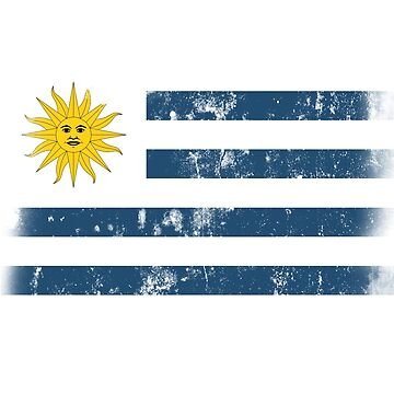 Flag of Uruguay by mikeonmic
