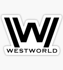 Westworld Logo - New Sticker