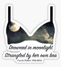 Im Mondlicht ertrunken Sticker