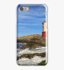 Coquille River Lighthouse At Bandon iPhone Case/Skin