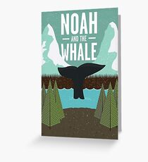 noah and the whale Greeting Card
