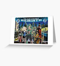 Rebirth - Green Arrow Greeting Card