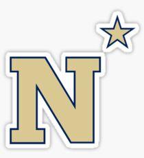 Navy Midshipmen Logo Sticker