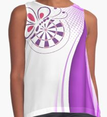 Bed And Butterfly Darts Shirt Contrast Tank
