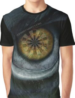 Evil Eye Darts Focus Graphic T-Shirt