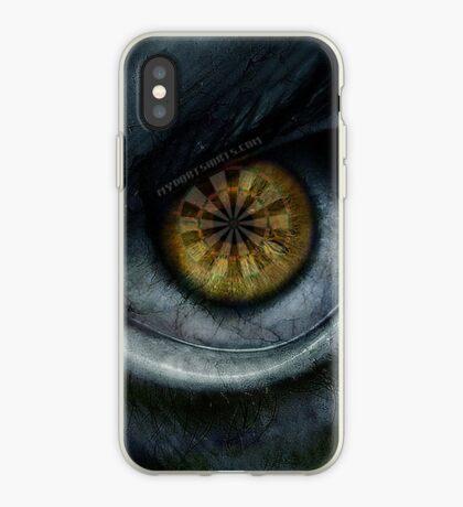Evil Eye Darts Focus iPhone Case